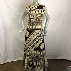 Keone Hawain Vintage Maxi Dress
